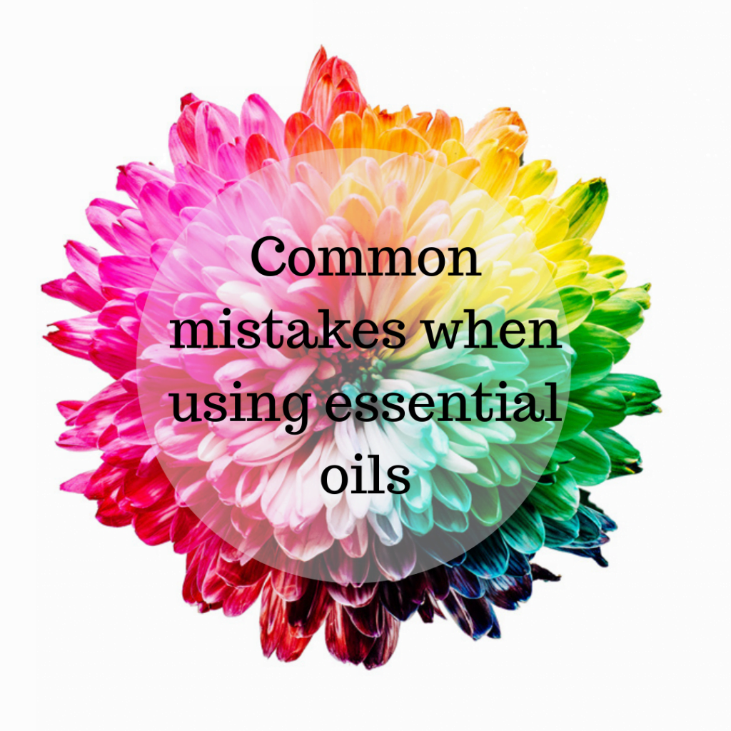 Common mistakes when using essential oils 1