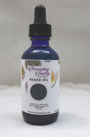 black seed beard and face oil